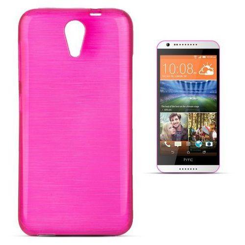 """Jelly Brush HTC Desire 620 / 620G"" (Pink), kolor różowy"