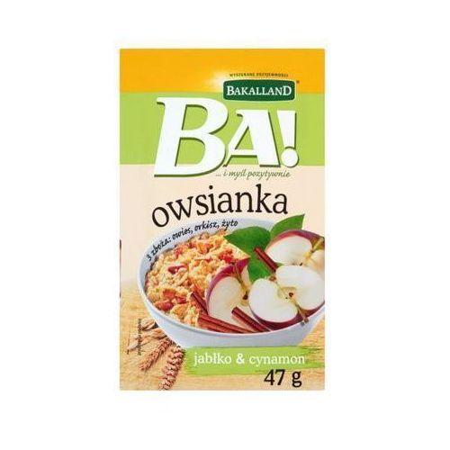 Bakalland 47g ba! owsianka jabłko i cynamon