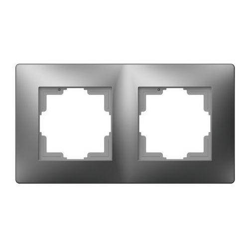Elektroplast volante ramka uniwersalna 2x grafitowy 2672-08