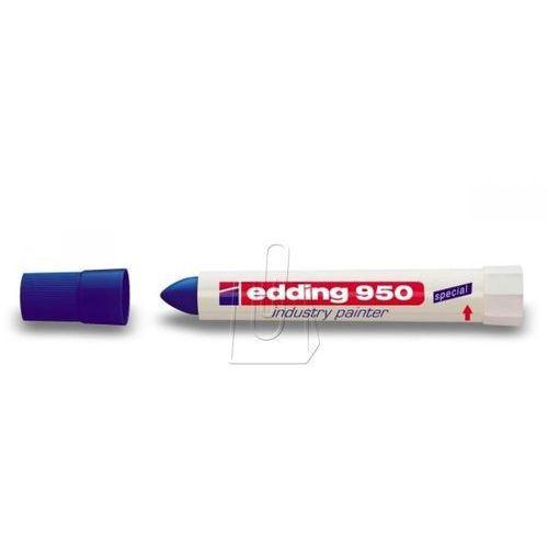 Marker 950 przemysłowy 10 mm niebieski marki Edding