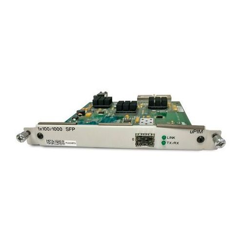 JXU-1SFP-S 1-port SFP 100 Mbps or Gigabit Ethernet Universal PIM (SFP sold separately)