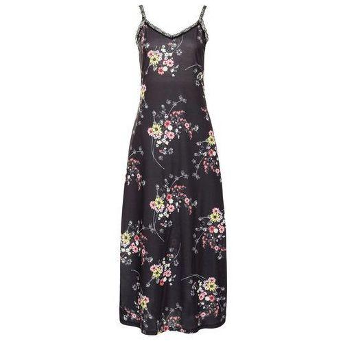 836729fa77 Sukienka shirtowa z koronką bonprix czar.