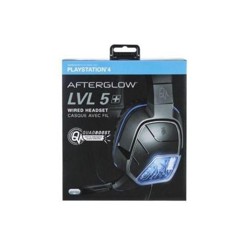Zestaw słuchawkowy 051-033-EU-X Afterglow LVL 5 Stereo do PS4