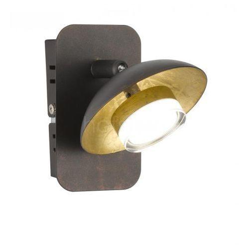Wofi VICENZA Kinkiet LED Brązowy, 2-punktowe - Nowoczesny/Design - Obszar wewnętrzny - VICENZA - Czas dostawy: od 3-6 dni roboczych, 004054-003882