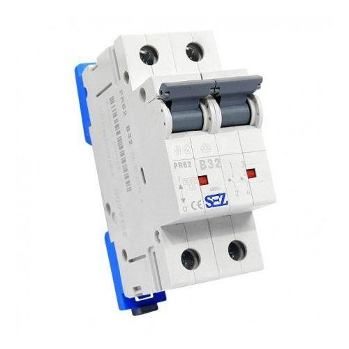 Pce B32a 2p 10ka wyłącznik nadprądowy bezpiecznik typ s eska pr62 sez 0449 (8585009000449)