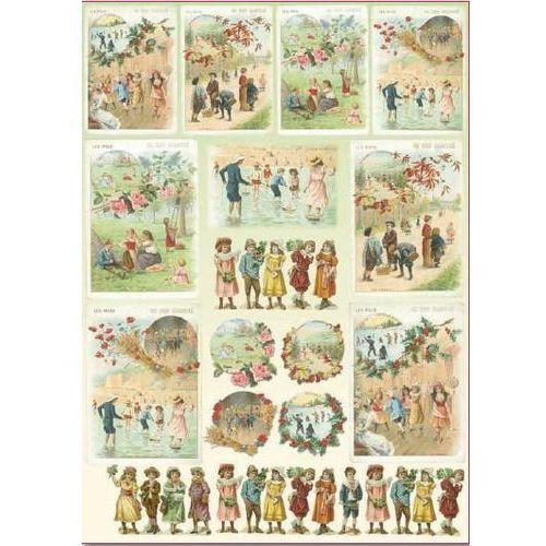 Papier klasyczny do decoupage Stamperia 50x70 cm - 367