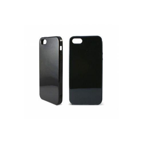 KSIX Etui TPU dedykowane do Apple iPhone SE/5S/5 - czarne Odbiór osobisty w ponad 40 miastach lub kurier 24h, towar z kategorii: Futerały i pokrowce do telefonów
