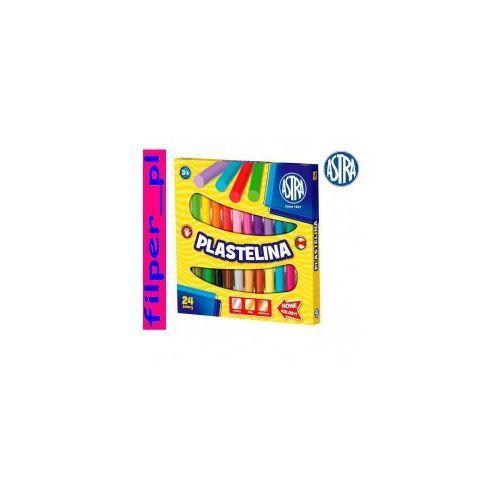 Plastelina 24 kolory marki Astra