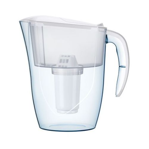 Dzbanek filtrujący dalia, biały + wkład aquaphor b100-5 marki Aquaphor