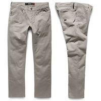 spodnie KREW - K Slim 5 Pocket Dark Khaki (DKH) rozmiar: 32, kolor zielony