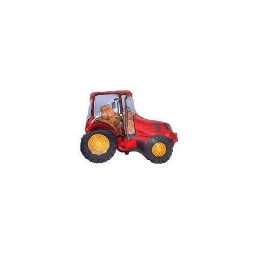Flx Balon foliowy traktor czerwony - 62 cm - 1 szt.