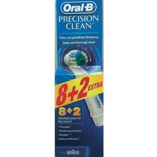 Końcówki do szczoteczek braun oral- b precision clean 8szt-2pack marki Braun oral-b
