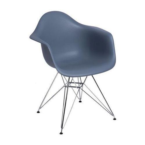 Krzesło P018 PP inspirowane DAR - dark grey (5902385715898)