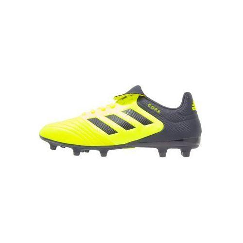 adidas Performance COPA 17.3 FG Korki Lanki solar yellow/legend ink, CCZ83