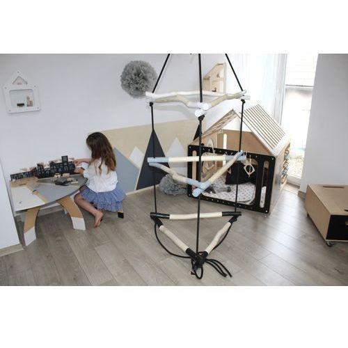 Podwieszany sprzęt gimnastyczny drabinka trójkąt marki Oloka-gruppe