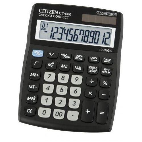 Kalkulator Citizen CT-600J Darmowy odbiór w 19 miastach! (kalkulator)