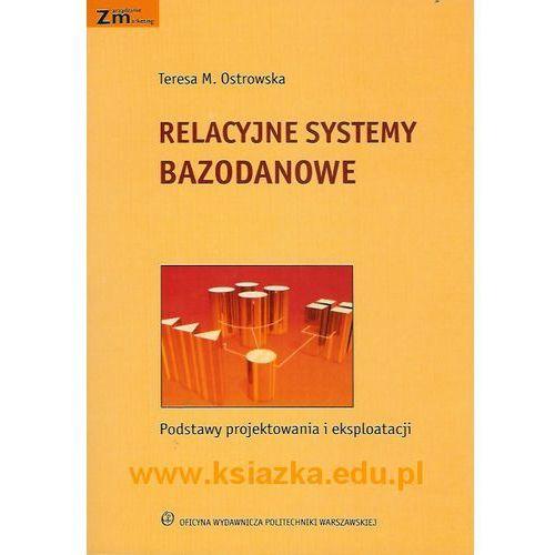 Relacyjne systemy bazodanowe. Podstawy projektowania i eksploatacji, Politechnika Warszawska