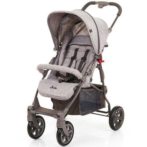 Abc design wózek dziecięcy treviso 4 woven-grey 2018