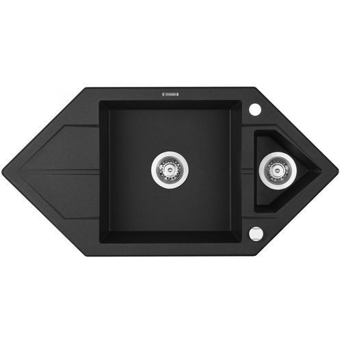 Zlewozmywak DEANTE HEXON ZQPG653 GRAFITOWY METALIK (5908212063927)