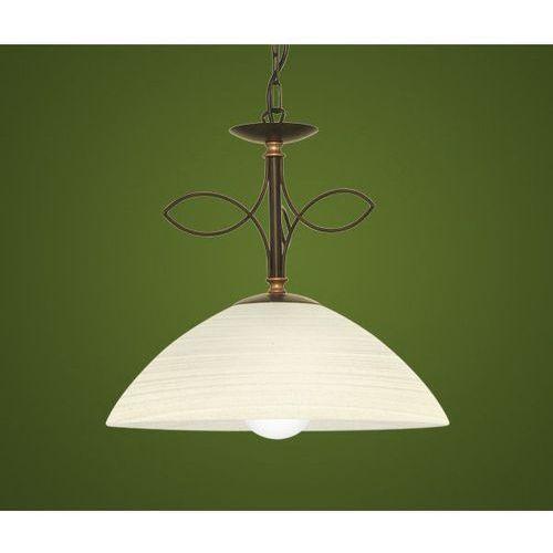 BELUGA - LAMPA WISZĄCA EGLO - 89133, kolor antyczny
