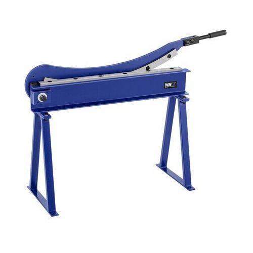 nożyce do blachy - gilotynowe - ręczne - 800 mm msw-hs800 - 3 lata gwarancji marki Msw