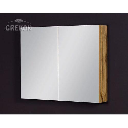 Szafka łazienkowa z lustrem 80x65 seria Fokus NE