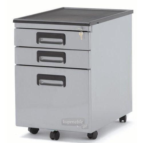 Unique Kontener pod biurko srebrny 324-s