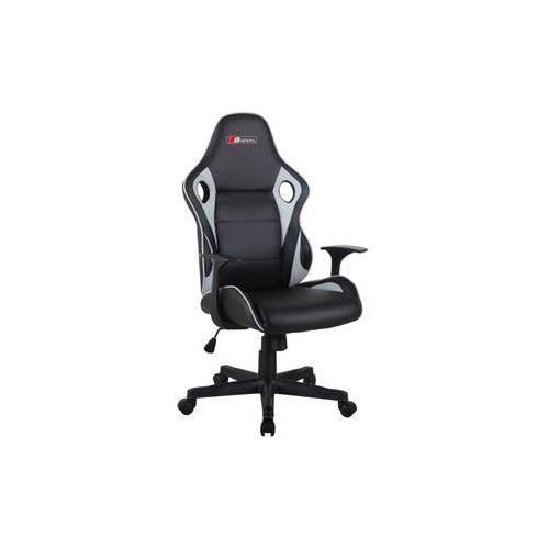 Fotel carrera gamingowy czarny/szary marki Signal