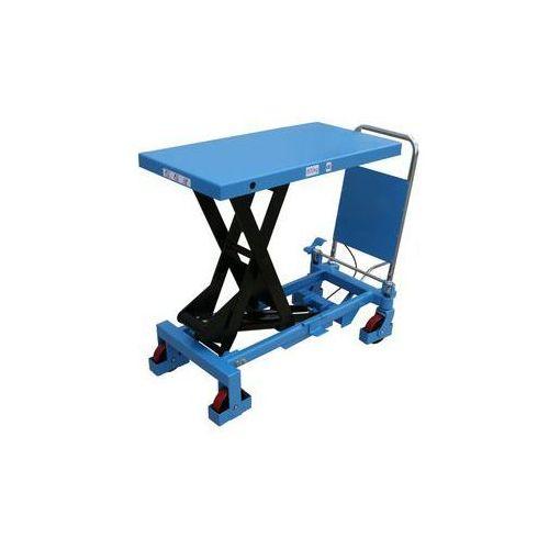 Nożycowy wózek podnośny,nośność 800 kg marki Gesutra