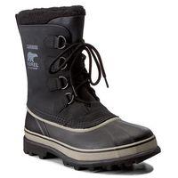 Śniegowce - caribou nm1000 black/tusk 014, Sorel, 40.5-45