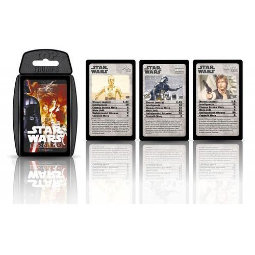 Gra - Top Trumps Star Wars IV-VI