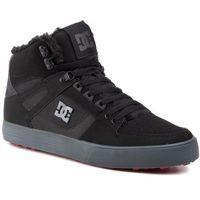 Sneakersy DC - Pure High-Top Wc Wnt ADYS400047 Black/Grey/Red (XKSR), w 3 rozmiarach