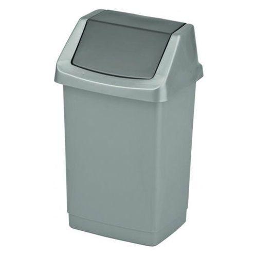 Curver Kosz łazienkowy na śmieci uchylny click-it 9l (3253921731219)
