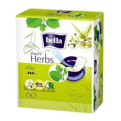 Bella panty herbs tilia wkładki higieniczne x 60 sztuk marki Tzmo