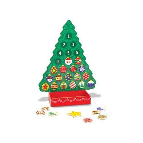 Zabawka drewniana MELISSA & DOUG Kalendarz Adwentowy 13571 (0000772135719)