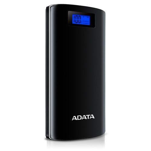 Powerbank ADATA P20000D, 20000mAh (AP20000D-DGT-5V-CBK) Szybka dostawa! Darmowy odbiór w 20 miastach! (4712366966727)