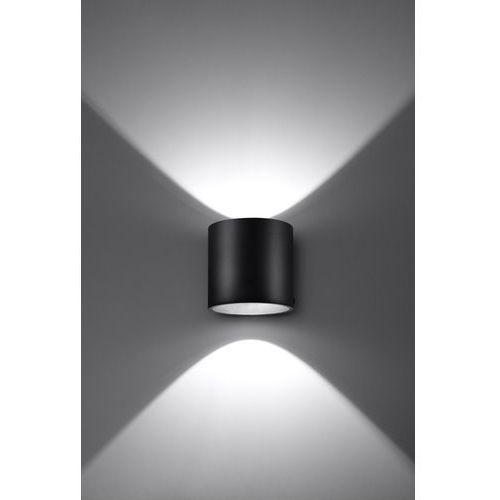 Sollux Kinkiet orbis 1 czarny (5902622425030)
