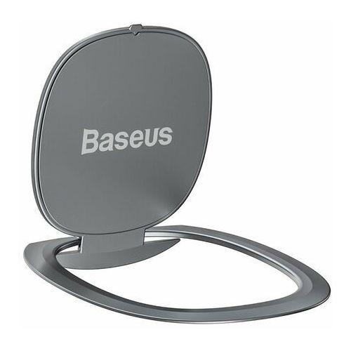 Baseus ultracienki samoprzylepny uchwyt ring podstawka do telefonu srebrny (suyb-0s) - srebrny