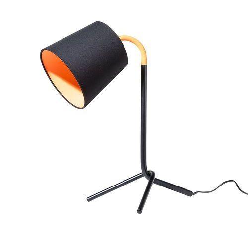 Beliani Lampa biurowa czarna - stołowa - nocna - gabinetowa - mooki (4260580922055)