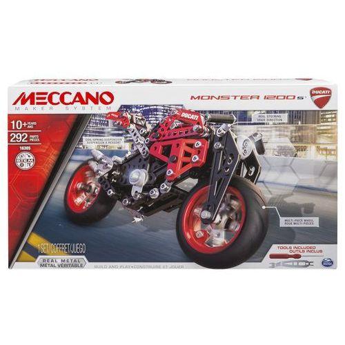 MECCANO Meccano Zestaw - motor Ducati Monster 1200 S - OKAZJE