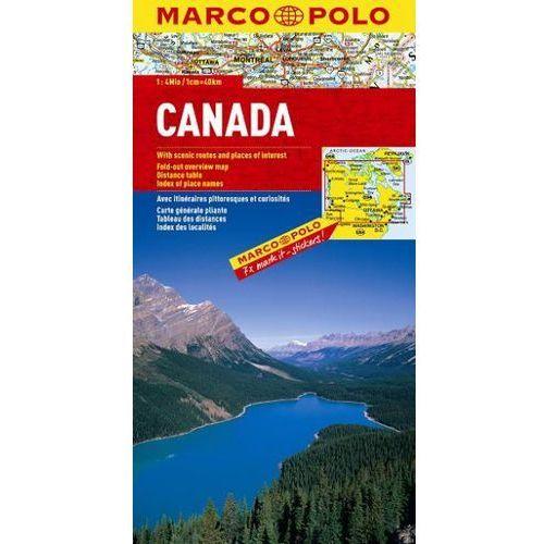 Kanada. Mapa Marco Polo w skali 1:4 000 000 (Marco Polo)