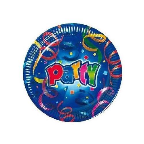 Talerzyki urodzinowe party - 16 cm - 8 szt. marki Procos non-disney