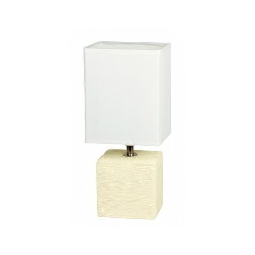 Rabalux Lampka stołowa lampa orlando 1x40w e14 kremowa 4929 (5998250349299)