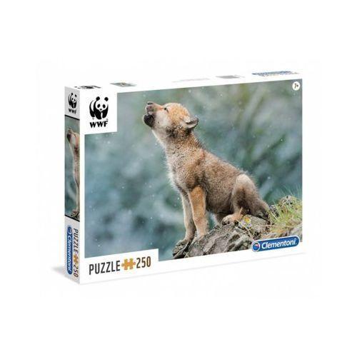 250 Elementów WWF Wilk
