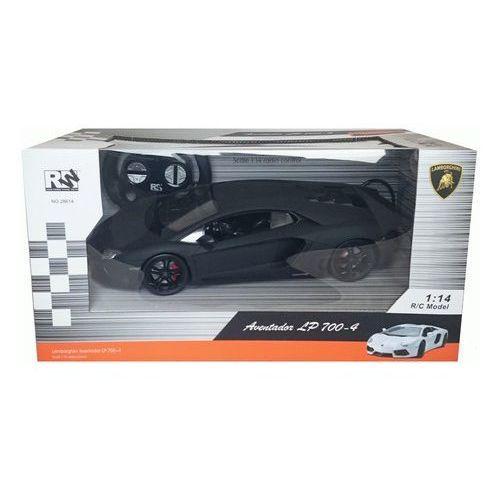 Lamborghini Aventador zdalnie sterowane 1:14 czarne z kategorii Pozostałe zabawki