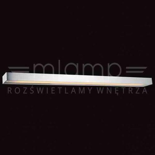 Orlicki design Kinkiet lampa ścienna bastone 640 metalowa oprawa prostokątna belka przyścienna aluminium (1000000280845)