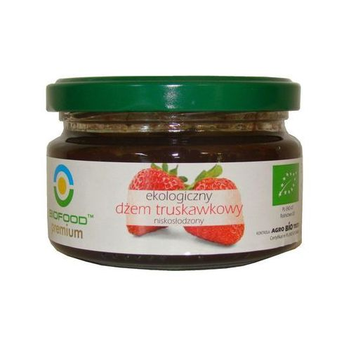 Dżem truskawkowy niskosłodzony 200g (konfitura)