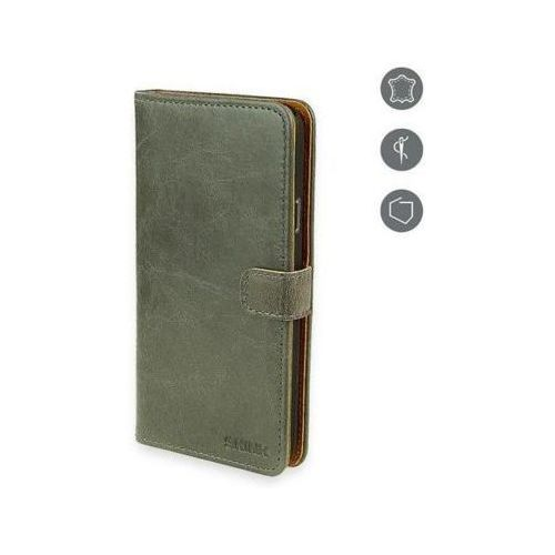 Etui SKINK Book do Samsung Galaxy S6 Szary (5902335360727)