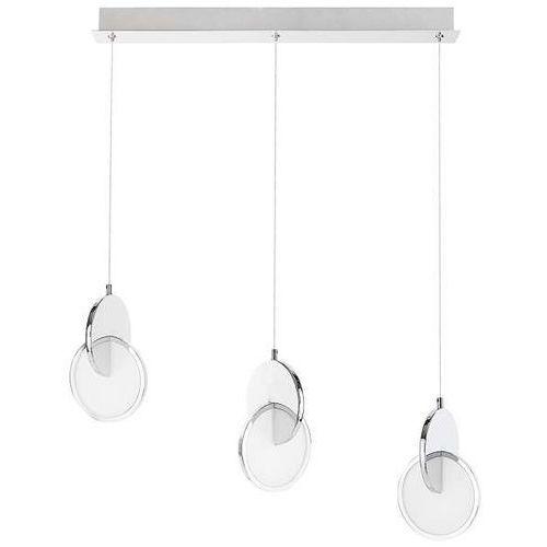 LAMPA wisząca ASSANA 5670 Rabalux metalowa OPRAWA kaskada LED 22W 3000K szklane okręgi chrom