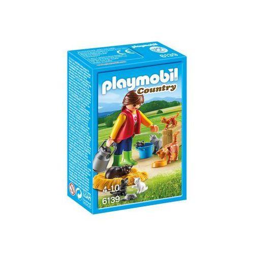 Playmobil COUNTRY Rodzina kotków 6139